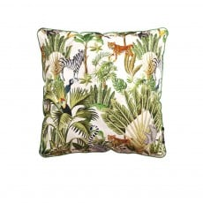 Coussin Velvet Printed Jungle