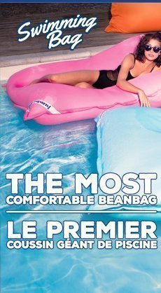 Coussin géant Swimming Bag